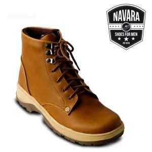 Sepatu Casual Boots Original Ori Pria Bannery Tan Murah