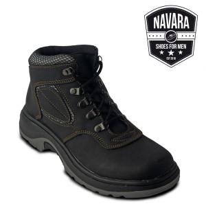 Sepatu Casual Boots Original Ori Pria Adventure Black Murah