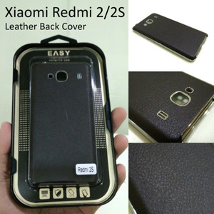 XIAOMI REDMI2 PRIME back case back door back cover leather kul Unik