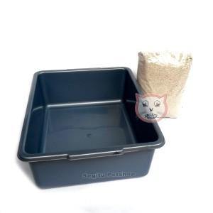 Litter Box Kucing Toilet Kucing  sc 1 st  Tokopedia & Jual Litter Box Kucing Toilet Kucing - SEGITU PETSHOP JAKARTA ... Aboutintivar.Com