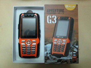 GPLUS G-PLUS G3 ADVENTURE WATERPROOF HT + TV