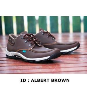 Sepatu Casual Crocodile Pria Kickers Albert Kulit