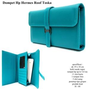 dompet wanita hpo 5 inch kulit roof hermas turkish