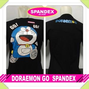 Jual Kaos Distro Keren Anime Kartun Doraemon Spandex Stand Nobita