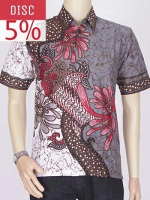 Baju Kemeja Batik Ekslusif Khas Pekalongan || Rumah Batik 2614