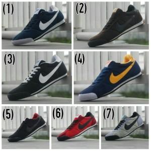 Sepatu Casual+Nike Marqueen+Sepatu Sport Joging Pria Murah