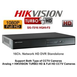 DVR TurboHD 2MP 16CH DS-7216HQHI-F2/N