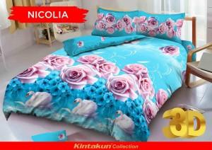 Bedcover D'luxe Kintakun ukuran 180 x 200 – Nicolia