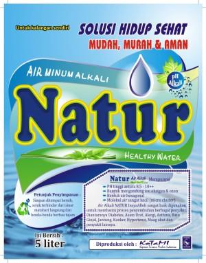 Air Alkali, Air Kesehatan Air Alkali NATUR, Air Terapi