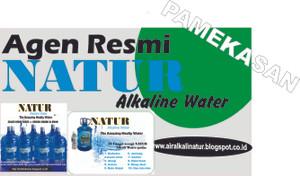 Air Alkali NATUR, Air Terapi, Air Obat Alami