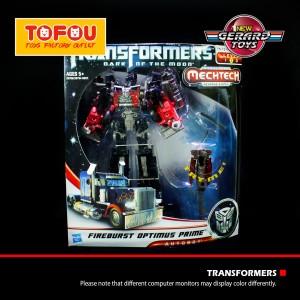 Fireburst Optimus Prime - Mectech (Voyager Class) - DOTM - Hasbro - MI