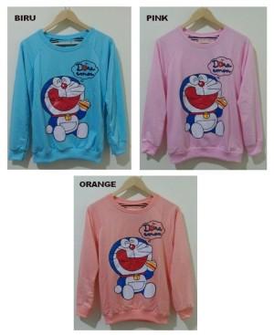 Sweater Doraemon Eat Cake