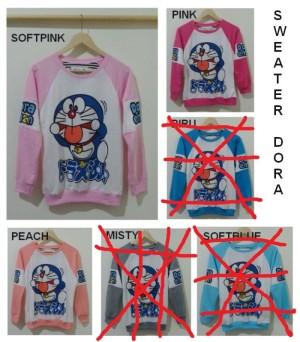 Sweater Doraemon Funny Face