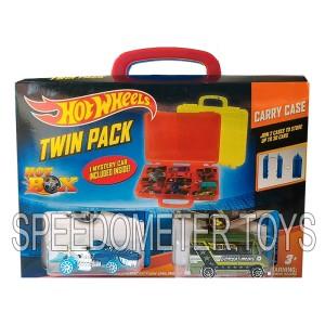 Tempat Hot Wheels Twin Pack Hot Box isi 2 Merah Biru | Mainan Anak