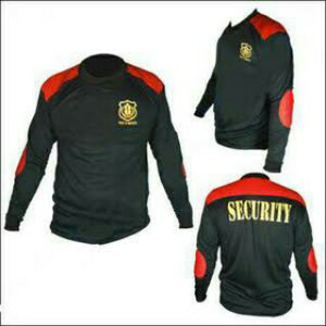 KAOS LENGAN PANJANG SECURITY