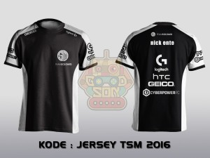 JERSEY / KAOS TEAM GAMING TEAM SOLO MID 2016