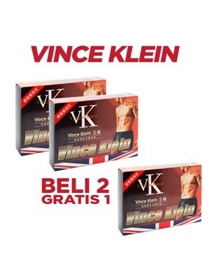 VINCE KLEIN (PAKET BELI 2 DAPAT 3) - SOLUSI ATASI IMPOTENSI & PROSTAT