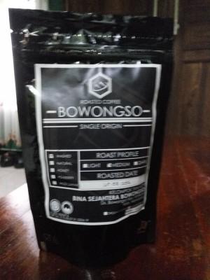 Kopi Arabika Bowongso Wonosobo (lereng Sumbing)