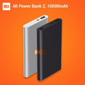 New Version! XIAOMI Slim Powerbank 2 10000mAh Fast Charging