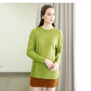 loose sweater hijau