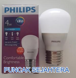 Philips Led Bulb 4w P45 Putih 4 Buah Tokopedia. Source · Lampu Philips LED 4w 4 watt .