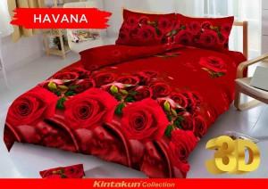 Sprei D'luxe Kintakun ukuran 120 x 200 – Havana