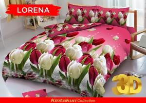 Sprei D'luxe Kintakun ukuran 120 x 200 – Lorena