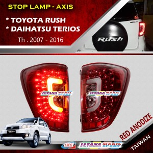 Stop Lamp Axis Red Anodise Rush / Terios 2007 - 2016
