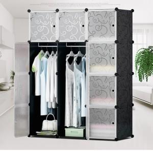 lemari rak baju gantung wardrobe meja anti air kuat dekorasi murah