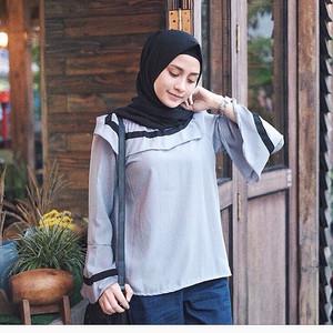 grey adela blouse