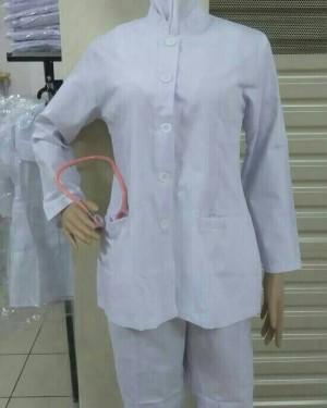 Baju Perawat Wanita Lengan Panjang
