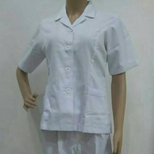 Baju Perawat Wanita Lengan pendek