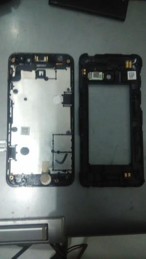 lcd, touch screen, case full asus zenfone 4