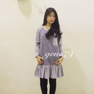 yoona stripe blouse
