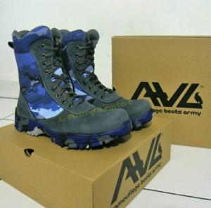 Sepatu PDL Loreng TNI AU merk AWL terbaru