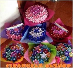 Jual Buket Bunga Kertas Origami Untuk Wisuda Dan Pernikahan Kota Bandung Firangela Ol Shop Tokopedia
