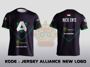 JERSEY / KAOS TEAM GAMING DOTA 2 TEAM ALLIANCE NEW LOGO
