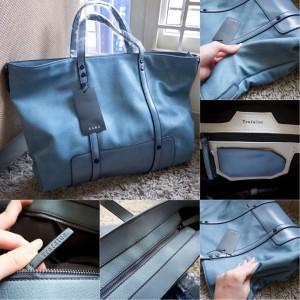 office blue. Tas Wanita Zara Basic Office Blue Biru Branded Original Authentic Ori E
