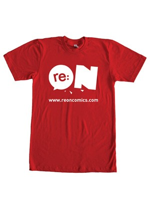 Baju Logo Reon Merah (T-shirt)