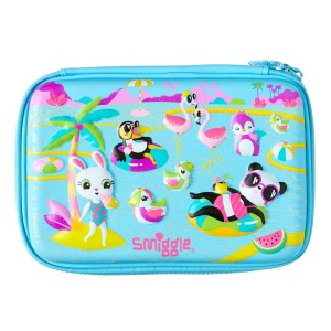 Smiggle - Blue Scented Party Hardtop Pencil Case