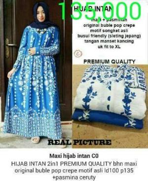 Maxi hijab Intan