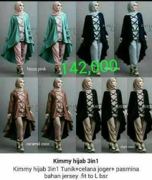 Hijab Kimmy 2in1