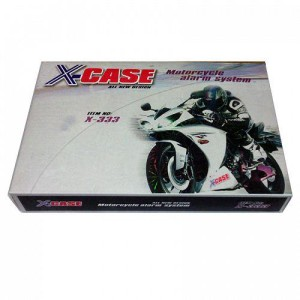 1 Set Alarm Xcase Motor Keamanan Kendaraan Universal