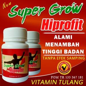 Obat Peninggi Badan Super Grow Hiprofit