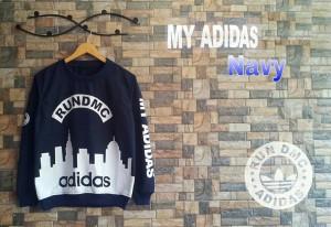 My Adidas Navy (Sweater Murah)/Jaket & Blazer Murah