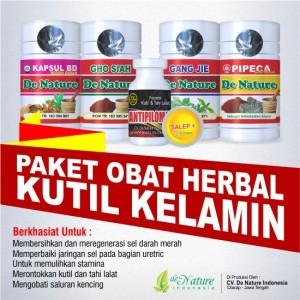 Obat Kutil Kelamin Herbal de Nature Tanpa Operasi Asli Paket 1