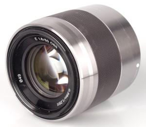 SONY LENSA SEL 50mm F1.8 OSS SILVER