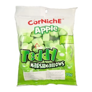 Permen Jelly Kenyal Apel Corniche Teddy Apple Marshmallow