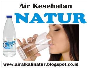 5 Liter Air Alkali Natur, Air Organik No Kimia