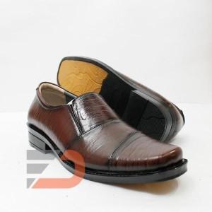 Sepatu pantofel pria bahan kulit sapi asli B10 mh
